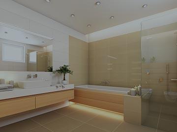 prise electrique salle de bain à la Garde